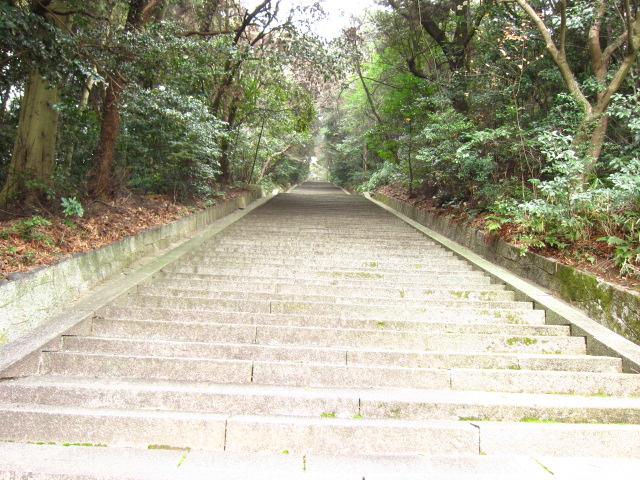 太閤廟の階段