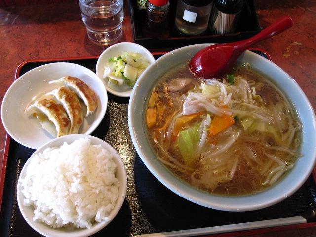サンマー麺定食