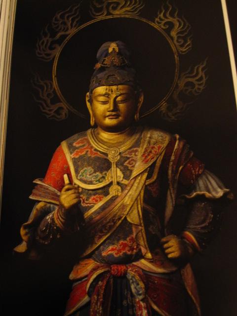 滝山寺・帝釈天立像