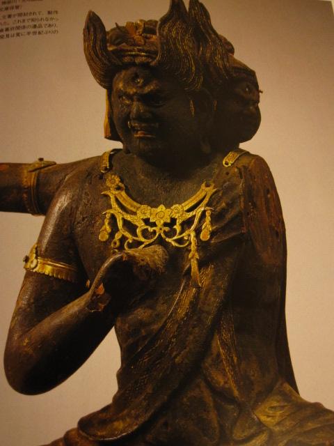 称名寺・大威徳明王像