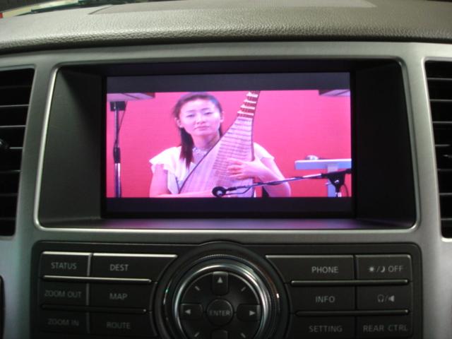 INFINITY QX56 純正モニターにDVD映像を映してみました!!