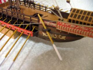 両舷舵 タレッテ級など古い地中海船に使用された