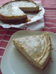 20100601豆乳チーズケーキ