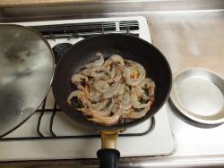 芝海老のパセリガーリック炒め39