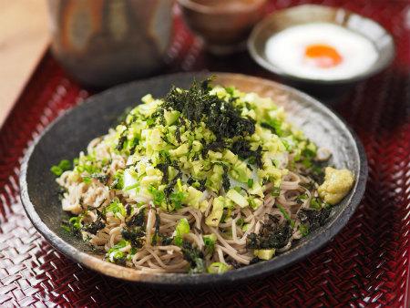 アボカド長芋ぶっかけ蕎麦10