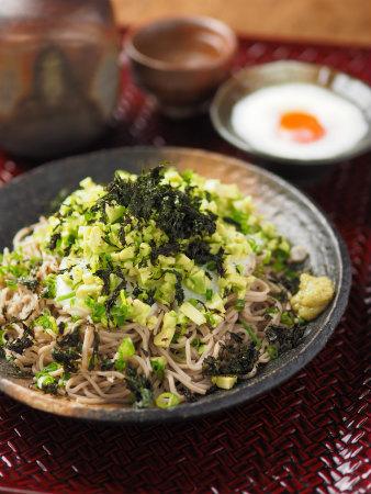 アボカド長芋ぶっかけ蕎麦09