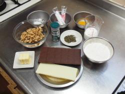 チョコミントブラウニー作り方20