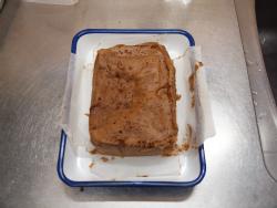チョコミントブラウニー作り方39