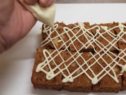 チョコミントブラウニー作り方49