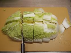 鶏むね肉キムチ鍋14