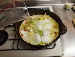 鶏むね肉キムチ鍋19