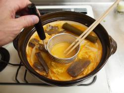 鶏むね肉キムチ鍋22