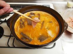 鶏むね肉キムチ鍋24