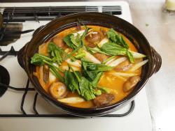 鶏むね肉キムチ鍋26