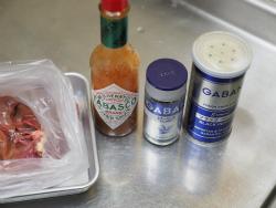 鶏レバーのタバスコオイル煮13