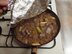 鶏レバーとこんにゃくのぴり辛煮35