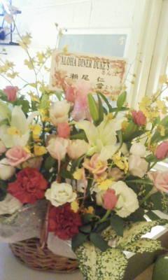 5周年お花