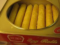 egg rolls(shou )
