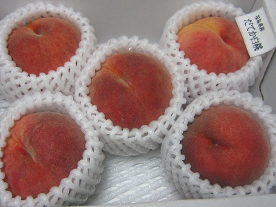 福島の今年最後の桃