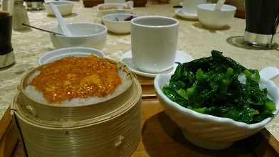 ウーコン上海蟹ご飯