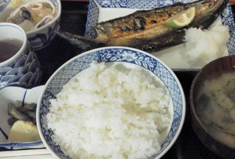秋刀魚の開き