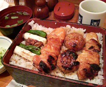 焼き鳥弁当