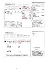 電気料金使用・受給電力明細( (1)