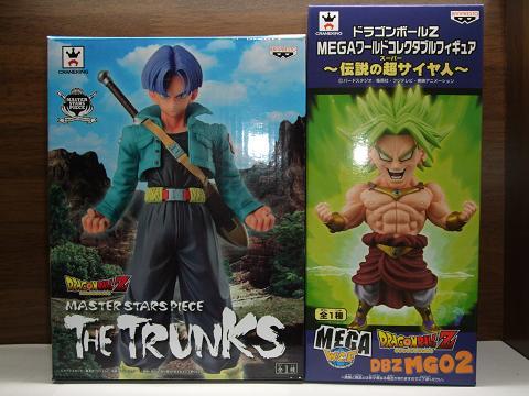 『ドラゴンボール』のプライズ~MSPトランクス&MEGAワーコレブロリー(1)