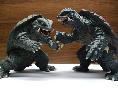 『ゴジラ』&『ガメラ』の食玩~「究極大怪獣」&「激造」(4)