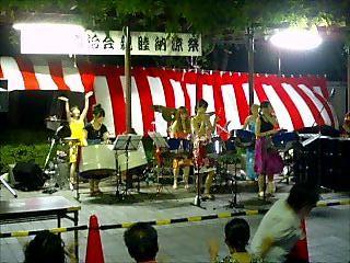 納涼祭でのPNM(2010/7/31)