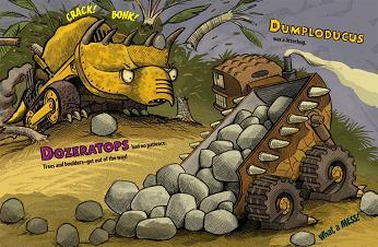 ドーザーラトプスとダンプロドゥカス
