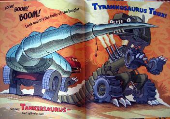 ティラノサウルスTラックス対タンカーサウルス