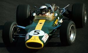 Jim Clark's Lotus-Cosworth 49