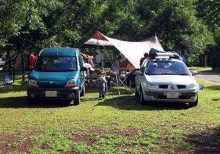 修善寺キャンプ