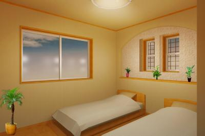 野里2丁目新築寝室