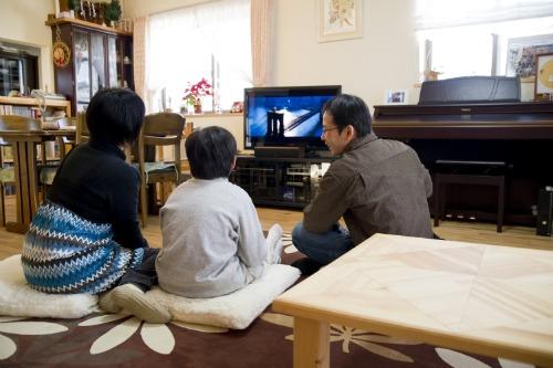 野田様邸ホームシアター