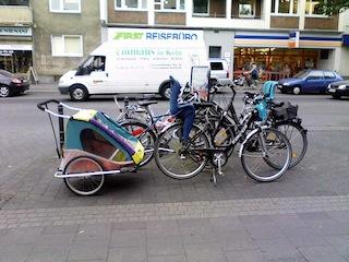 ドイツで自転車