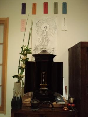 我が家の仏壇・盆飾り