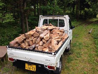 薪小屋運搬繰り返し1