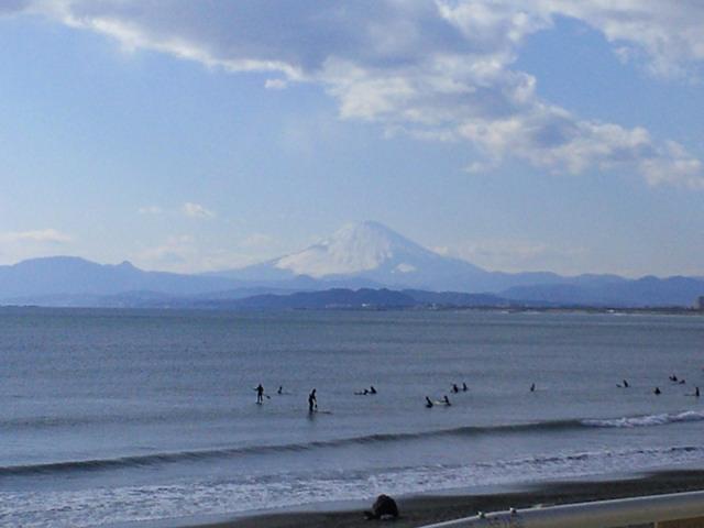 神奈川・湘南・藤沢・海・富士山