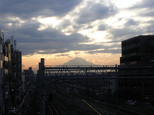 辻堂・テラスモール湘南・富士山
