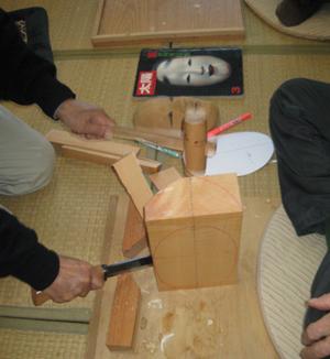 能面製作工程blog01