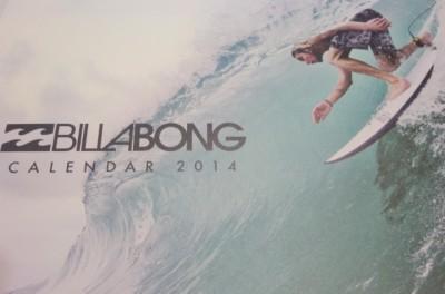 ビラボンカレンダー201402