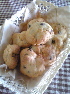 クルミ入りチョコチップクッキー
