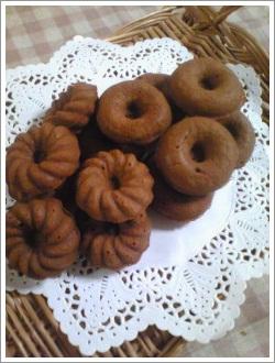 焼きドーナツ チョコver.