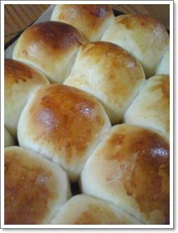 クリームチーズのちぎりパン