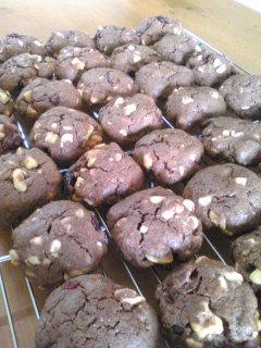 クランベリーホワイトチョコチップクッキー