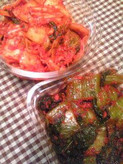 白菜&高菜キムチ