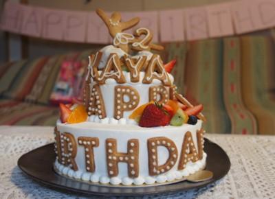 詩子さんのケーキ