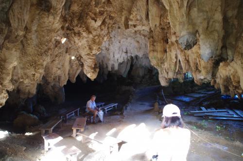 ガンガラーの谷武芸洞